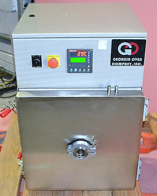 Georgia Oven 1FV104027 Industrial Vacuum Oven with Watlow Controllers 2005
