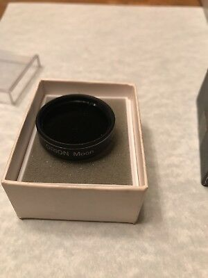 """1.25"""" Orion Moon filter #05662 for telescope eyepiece - Made in Japan"""