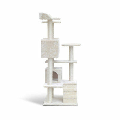 Cat Scratching Post Tree Scratcher Pole Furniture Gym House 134cm