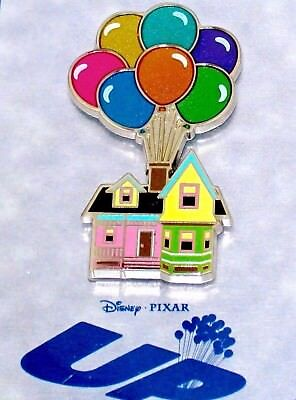 NEW LE Retired Disney Store 1 Pin✿Anniversary UP CARL & Ellie House Balloons HTF