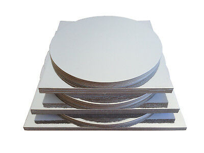"""26pc x Combo Cakeboard pack size 10"""" 11"""" 12"""" Circle Square craft board (A01)"""