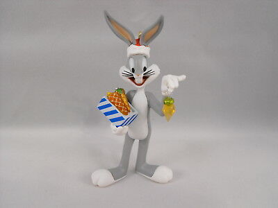 Hallmark Keepsake Looney Tunes A Very Carrot Christmas Bugs Bunny Ornament 2002