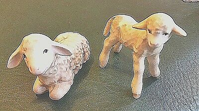 Goebel Nativity TMK-6  Sheep & Lamb Rare Vintage Germany Sign Number Farm Animal