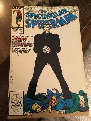 Spectacular Spider-man # 139 Marvel Comic Very Good Condition 1988
