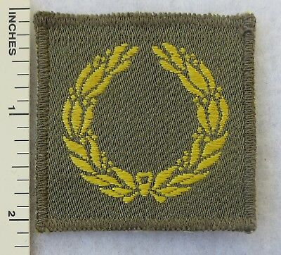 ETO Theater Made WW2 Vintage US ARMY MERITORIOUS UNIT COMMENDATION PATCH
