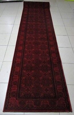 New Extra Long Persian Design Afghan High Quality Floor Hallway Runner 80X500Cm