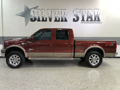 2007 Ford F-250  2007 F250 KingRanch 4WD CrewCab ShortBed Powerstroke 35s Loaded TX!