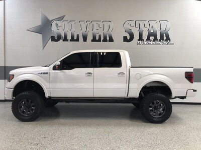 2011 Ford F-150  2011 F150 Lariat 4WD Limited Edition SuspensioLift 35s GPS Loaded 6.2L-V8 Texas