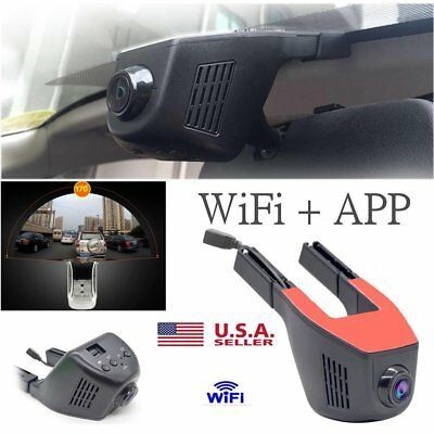 Hidden Car Camera 1080P WIFI DVR Dash Cam Recorder Camcorder Night Vision USA