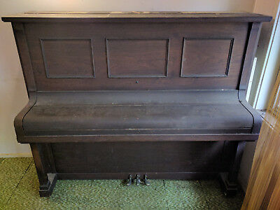 Antique 1920's Steck Piano Upright