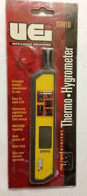 UEI TEST INSTRUMENTS DTH10 Digital Thermo Hygrometer, Pocket