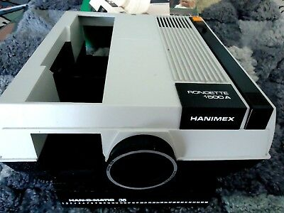 Hanimex Rondette 1500A Slide Projector - With Removable Remote Control