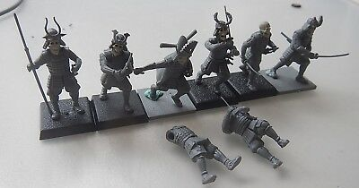 Warhammer fantasy / 9th age / kings of war converted Japanese undead army