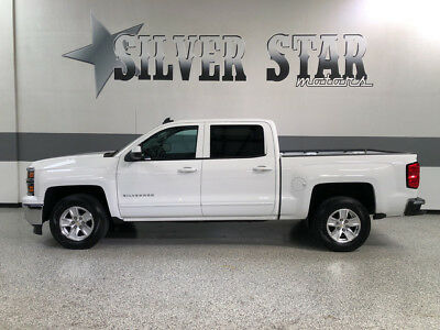 2015 Chevrolet Silverado 1500 LT Crew Cab Pickup 4-Door 2015 Silverado 1500 LT RWD CrewCab ShortBed 5.3L-V8 Loaded Warranty 29K.mils!