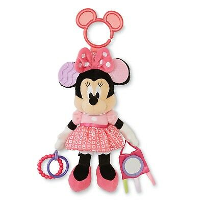 New Disney Kids Minnie Mouse Activity Toy Rattle Teether *Free Express Shipping*