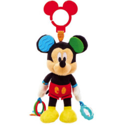 New Disney Kids Mickey Mouse Activity Toy Rattle Teether *Free AU Shipping*