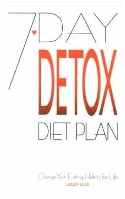 7-Day Detox Diet Plan, PDF BOOK, 194 Pages, instant delivery, read description