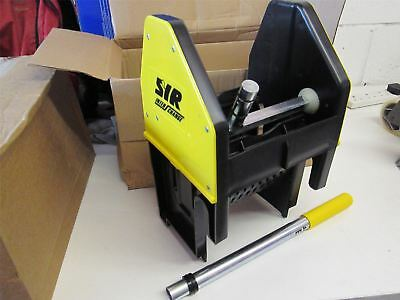 Syr professional mop bucket wringer only yellow