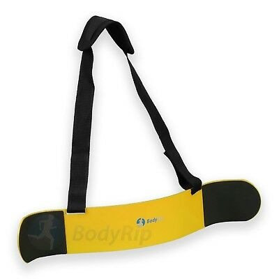 BodyRip Weightlifting Arm Biceps Blaster Isolator Gym Support Strap Yellow