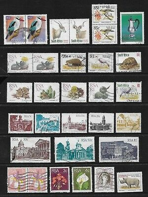 SOUTH AFRICA - mixed collection No.36, decimal, used