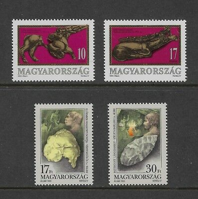 HUNGARY 1993 Scythian Remains, Palaeolithic Remains, mint sets of 2, MNH MUH