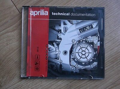 Aprilia Sr50 Water Cooled Ditech Or Carb Owners Manual On Cd