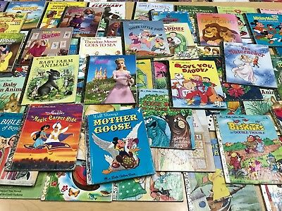 Little Golden Books Lot x20