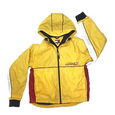Vintage 90s Tommy Hilfiger Yellow Jacket, Size S