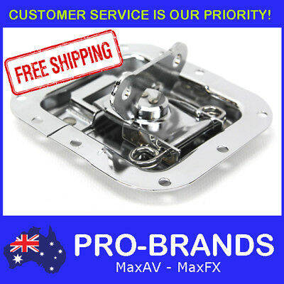 Chrome Recessed Butterfly Latch for Rack Flight Road Case Roadcase Flightcase