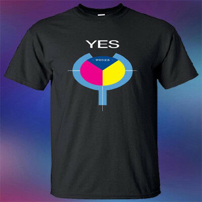 YES Logo Band Classic rock tour yestival Men/'s New T shirt S to 3XL