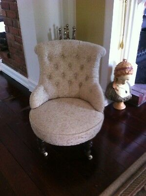 Antique victorian chair / REDUCED PRICE