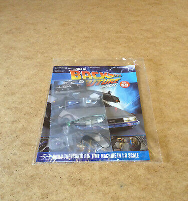 Build Back To The Future Delorean Time Machine Issue 59 1:8 Scale Die-Cast Parts