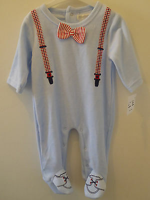 PITTER PATTER - Pretty Cute Soft Warm Baby Boys Sleepsuit 3-6 Months NEW GIFT