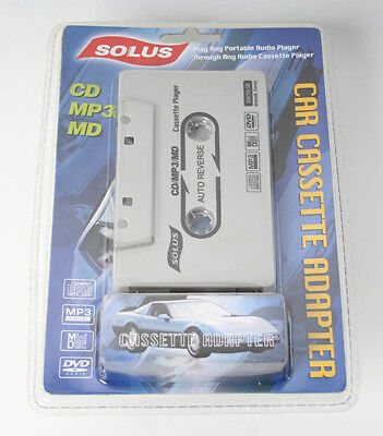 Solus Car Case Cassette Adapter for iPhone iPod MP3 CD Car Car Cassette Ad