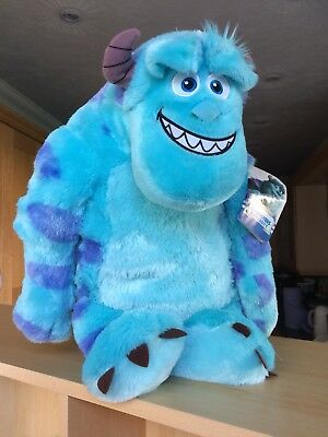 Disney Pixar Monsters Inc Sully Plush Toy - Large (18cm) Children's Soft Toy