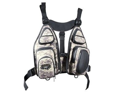 Nuevo! Dragon Street Fishing Technical Vest Tech Vest With Replacement Handbags