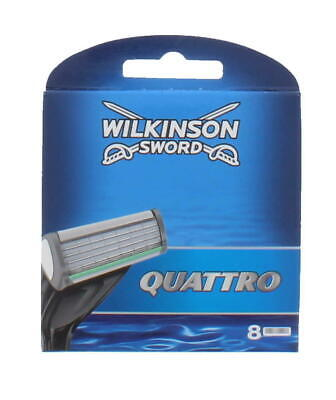 Wilkinson Sword Quattro Plus Razor Blades 4,8,12 Or 16 Blades