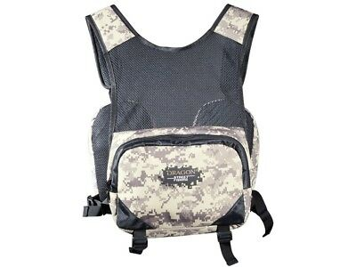 Dragon Street Fishing Tech Vest With Exchangeable Bags