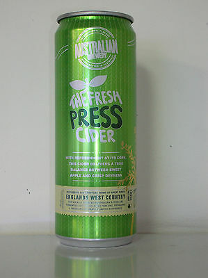 355Ml Aust Brewery The Fresh Press Cider Can