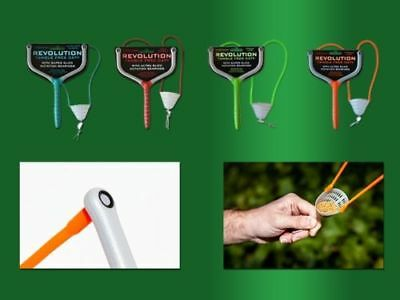 Drennan Revolution Tangle Free Catapults All With Spare Elastic/Latex and Pouch