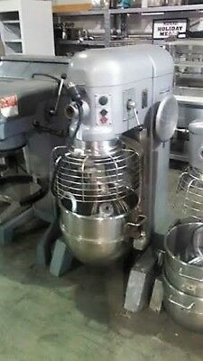 Hobart 60Qt Mixer H600T (Ss Bowl & Hook) Single Phase 2 H.p.