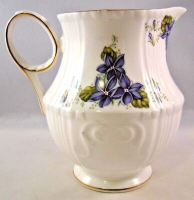 Royal Grafton Jacobean Violets Creamer England