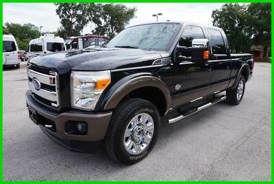 2015 Ford F-250 King Ranch 2015 King Ranch Crew Turbo 6.7L V8 32V Automatic 4WD Pickup Truck Moonroof