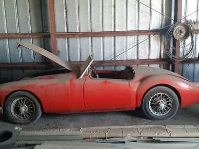 1959 MG MGA  1959 MGA Barn Find Red 4Speed Great Driver lots of work done and parts come with