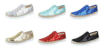 Damenschuhe luxus Halbschuhe Slipper Slip-On High-Top 36-41 NEU