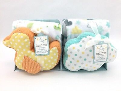 Little Miracles Snuggle & Snooze 2-Piece Blanket & Pillow Gift Set
