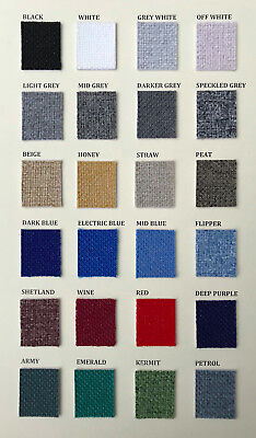 NEW 24 colours audio grade vintage speaker grill cloth fabric ACOUSTIC RESEARCH