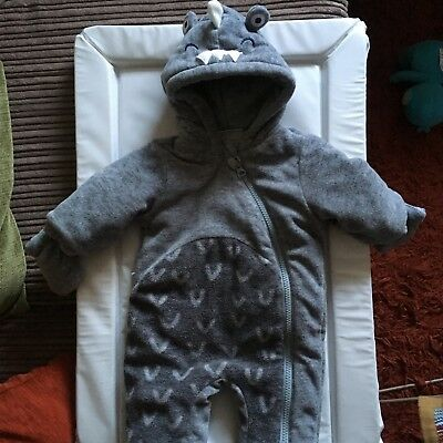 next baby boy snowsuit newborn