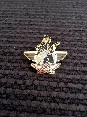 Joe Perry Aerosmith Pin - Route Of All Evil Tour
