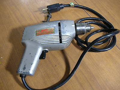 Vintage Thor 912 Heavy Duty Electric Drill Industrial Micro-American Chuck
